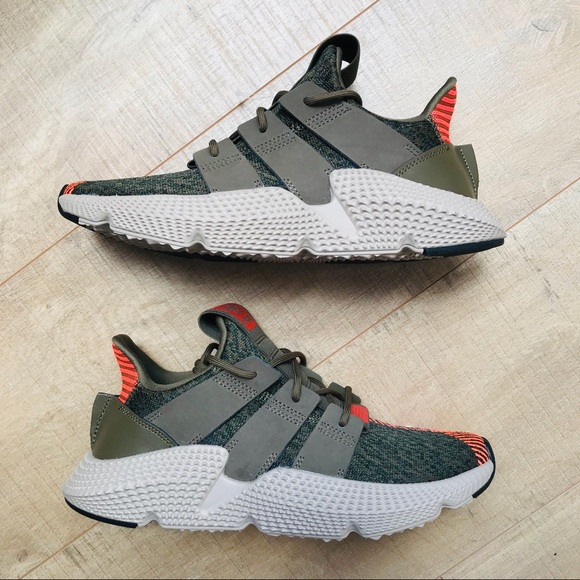 Green Sneakers Olive Poshmark schoenen Adidas Military Prophere OwI744qf